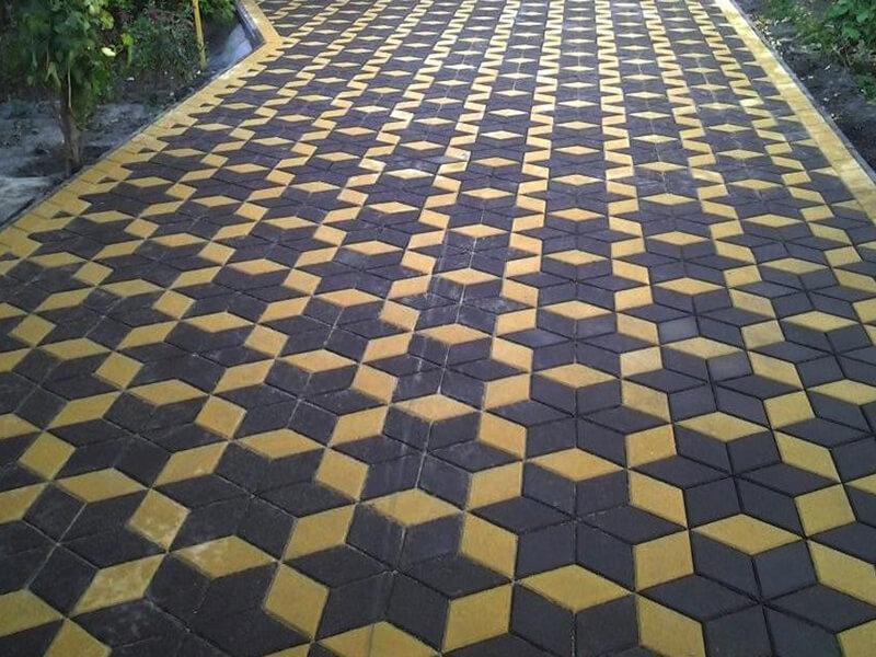 Укладка тротуарной плитки и брусчатки